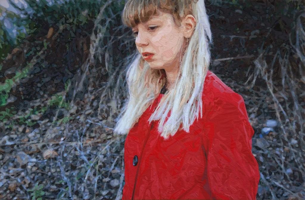 ELFİN _ 241x158 cm _ TUval üzerine kumaş dikiş _ 2015